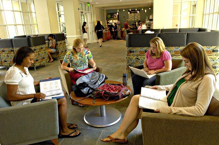 Лаунж-зона в University of South Carolina