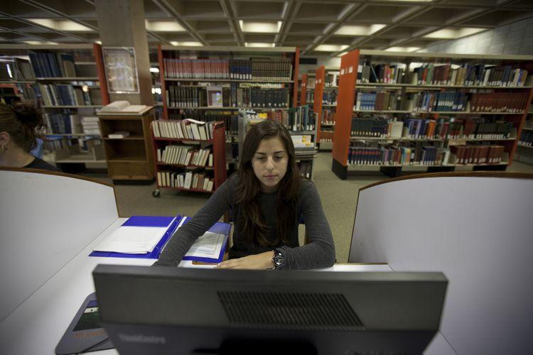 Библиотека Merrimack College