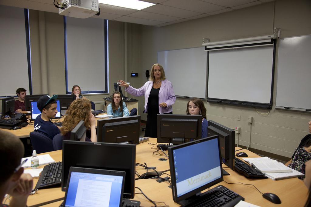 Образовательный процесс Merrimack College