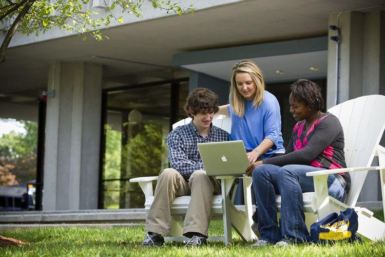 Студенты Merrimack College