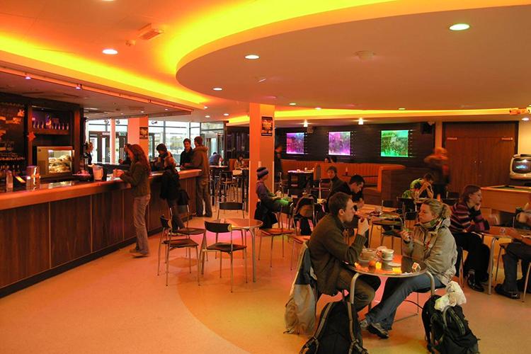 Студенческое кафе University of East Anglia