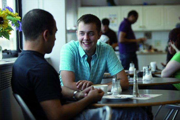Обед в David Game College, London