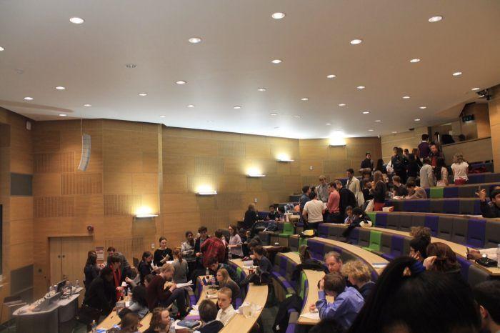 Аудитория в David Game College, London
