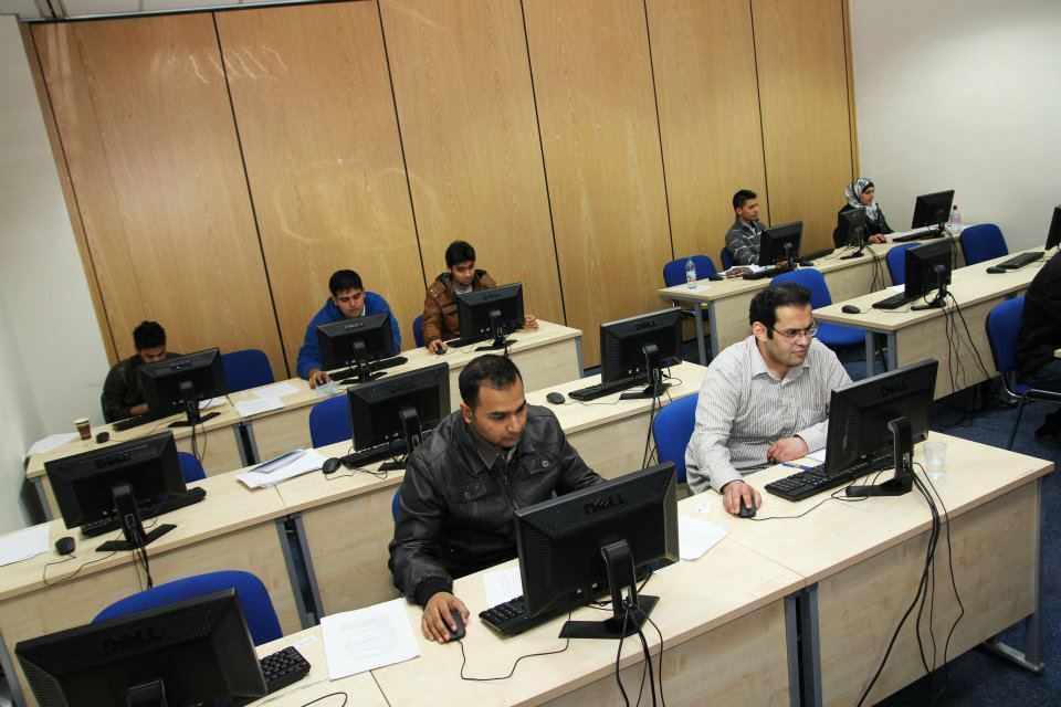 Процесс обучения в Kaplan International College, London