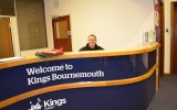 Рецепция Kings Colleges, Bournemouth