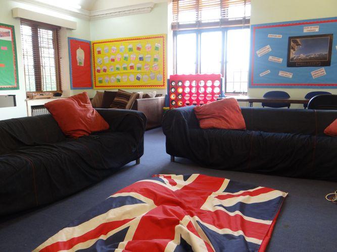 Общая игровая комната в Bede's Summer School, Handcross