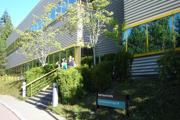 Fraser International College, вид сбоку