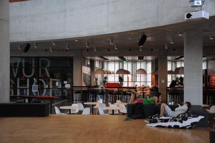 Комната отдыха Wageningen University