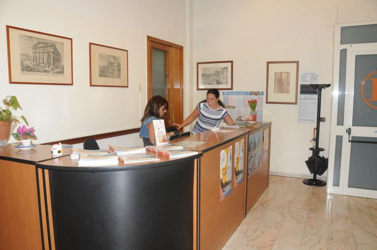 Ресепшн в школе Accademia Italiana
