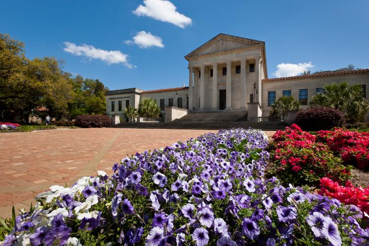 На кампусе Louisiana State University