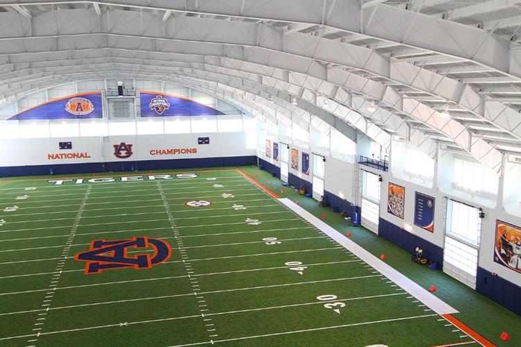 Крытый футбольный стадион Auburn University