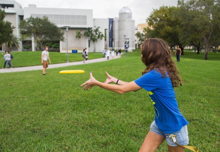 Игры на свежем воздухе в Florida International University