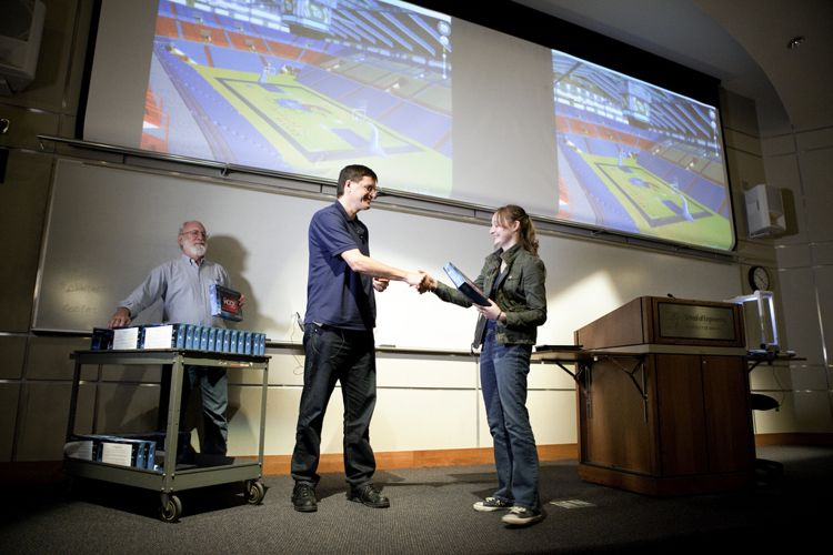 Награждение победителей конкурса в The University of Kansas