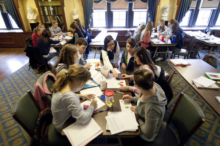 Работа студентов The University of Kansas над проектом