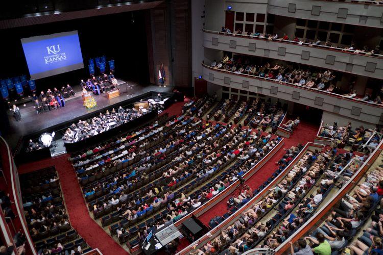 Торжественное мероприятие The University of Kansas