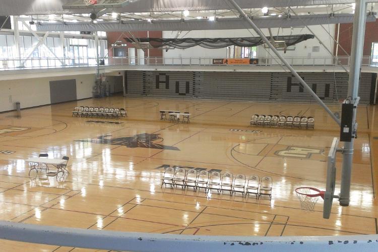 Спортивный зал Adelphi University
