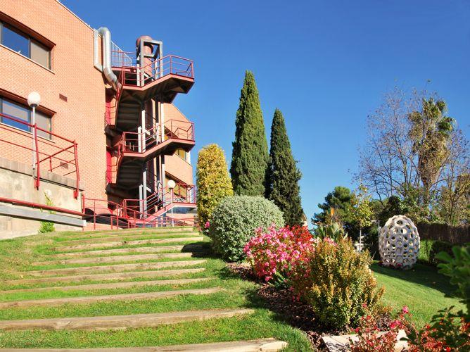 Сад Universitat Internacional de Catalunya