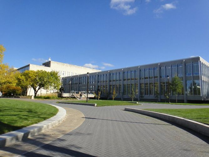 Дорога, ведущая к International College of Manitoba