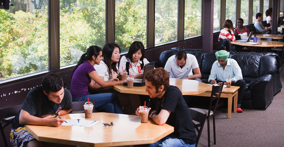 Кафе в International College of Manitoba