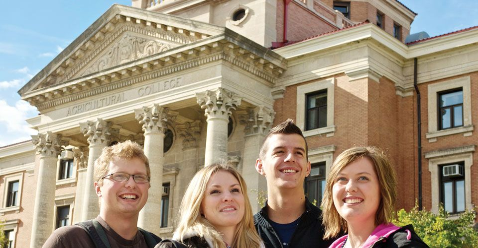 Студенты International College of Manitoba