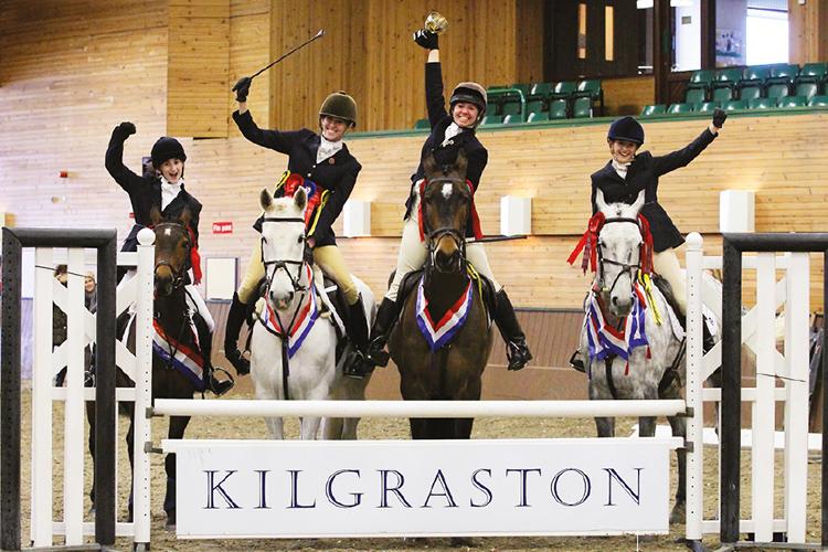 Занятия конным спортом в Kilgraston School