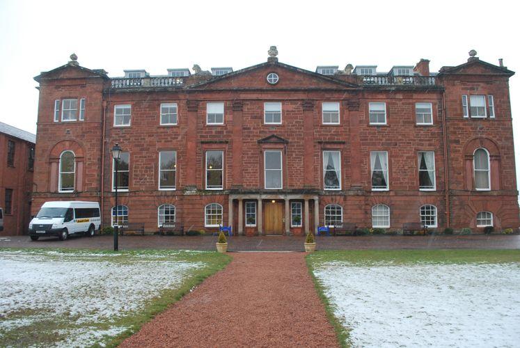 Главное здание Kilgraston School