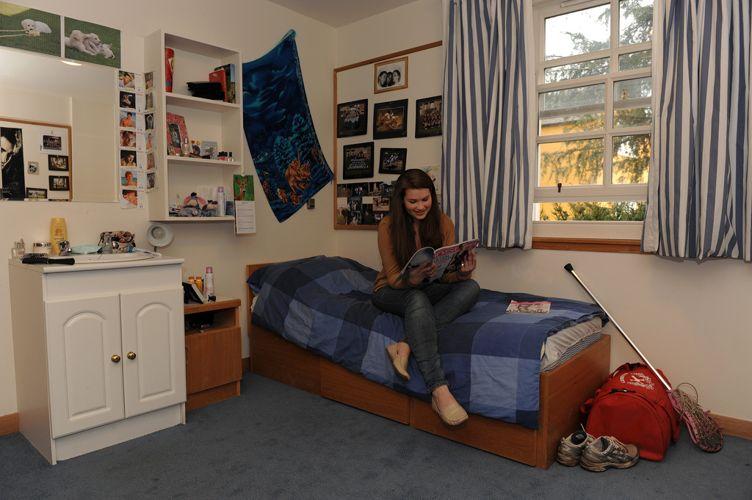 Комната студента в Loretto School