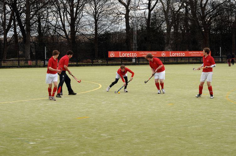 Спортивные игры в Loretto School