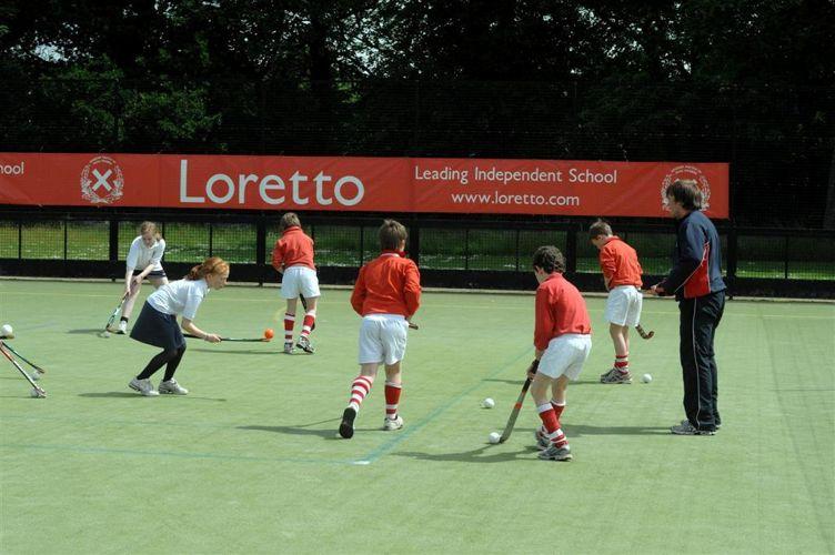 Спортивные занятия в Loretto School