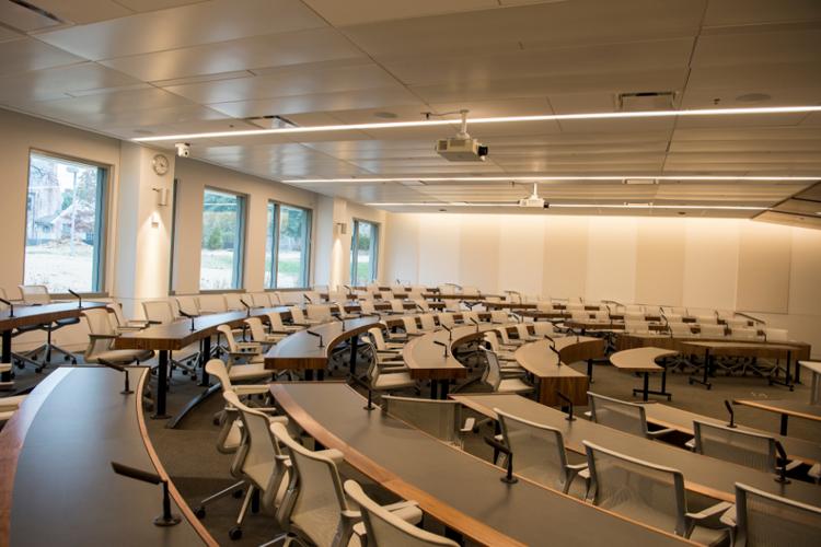 Аудитория в American University
