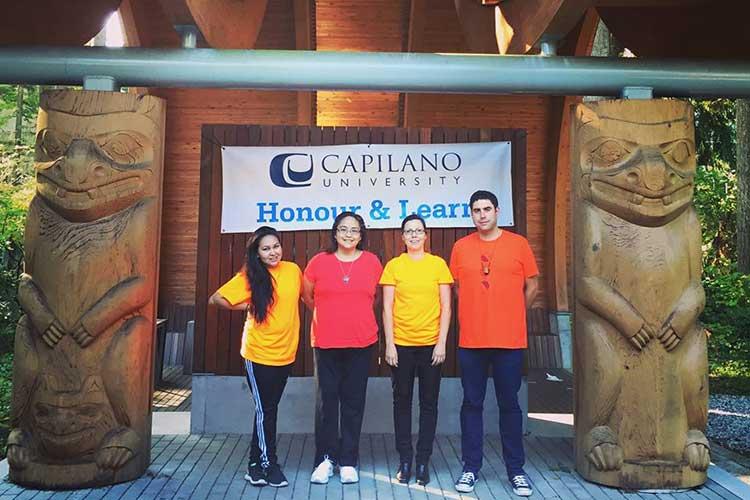 Cтуденты Capilano University