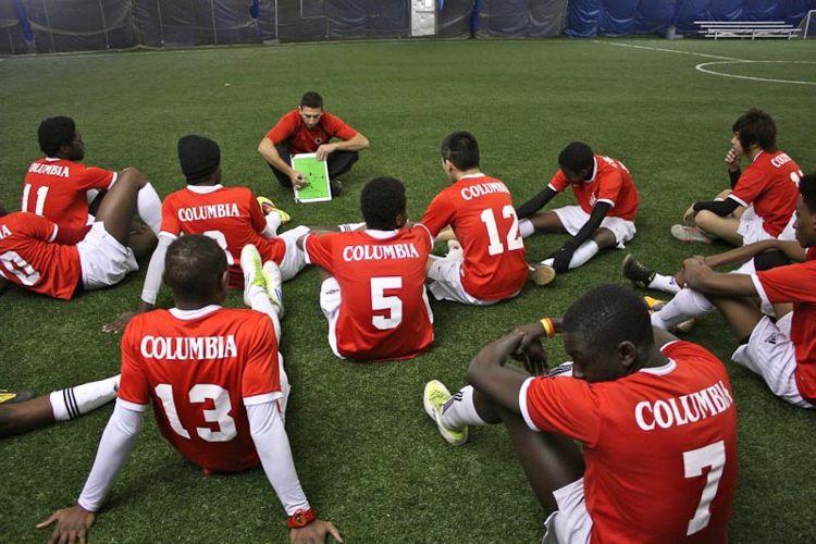 Футбольная команда Columbia International College