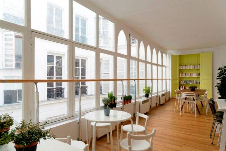 Комната для самостоятельного обучения в College de Paris