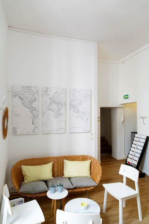 Комната отдыха в College de Paris