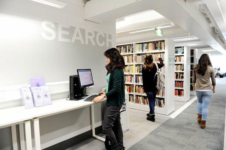 Библиотека University of Stirling