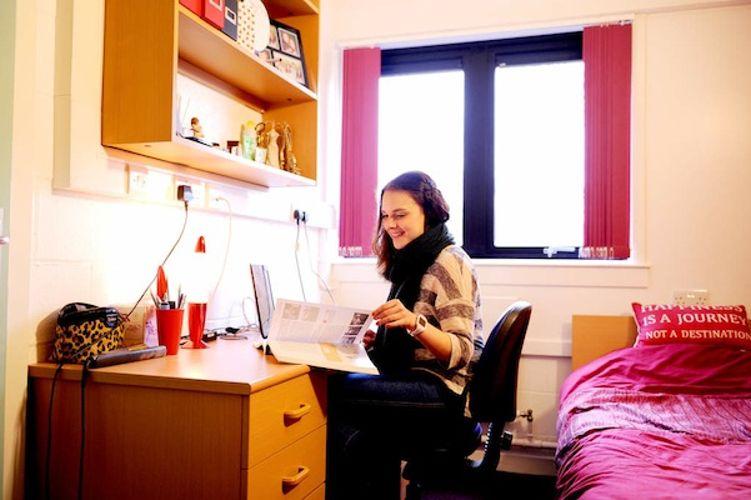Комната University of Stirling
