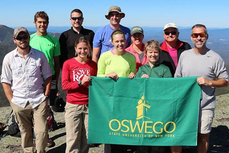 Студенты Oswego State University of New York