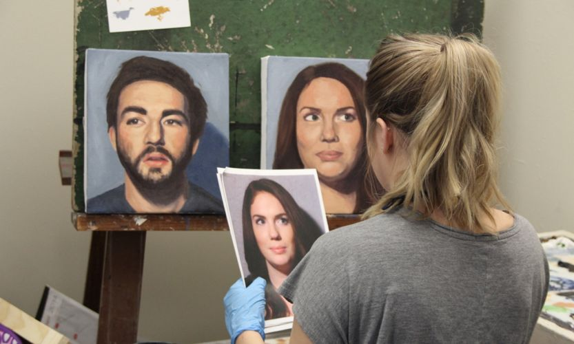Обучение художественному искусству в State University of New York at Fredonia