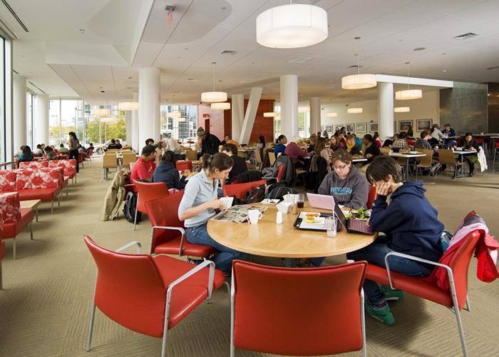 Кафе для студентов Northeastern University