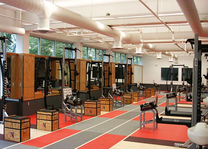 Тренажёрный зал Northeastern University