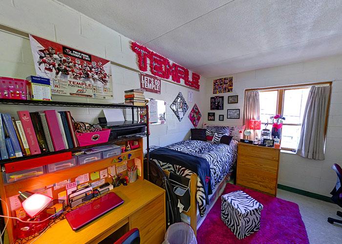 Студенческая комната в Northeastern University