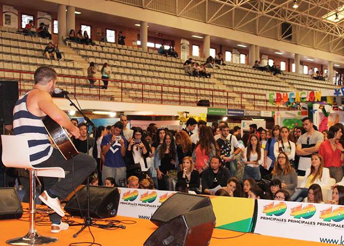 Конкурс талантов в University of Malaga