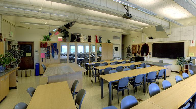 Аудитория Canada College