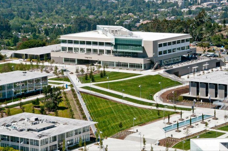 Вид сврху на College of San Mateo