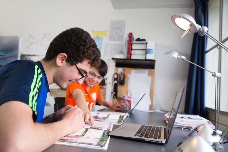 Студенты в International School Eerde