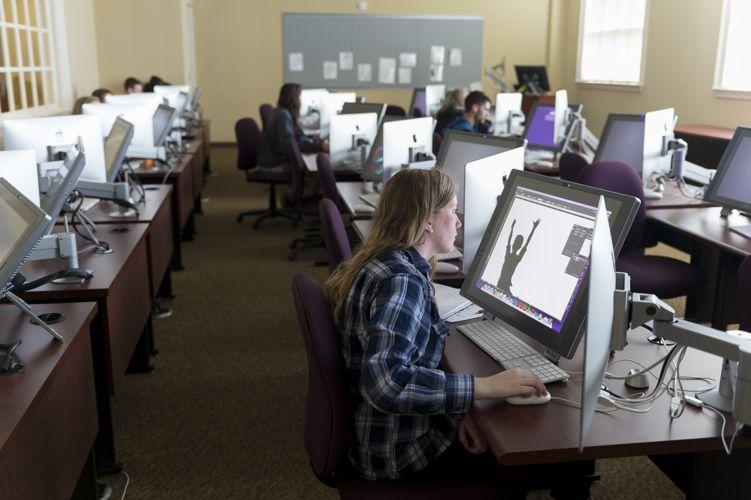 Компьютерный класс High Point University