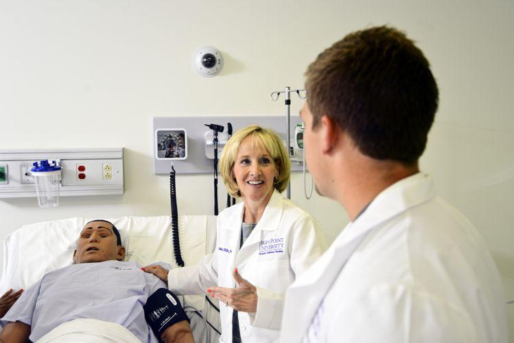 Урок медицины High Point University
