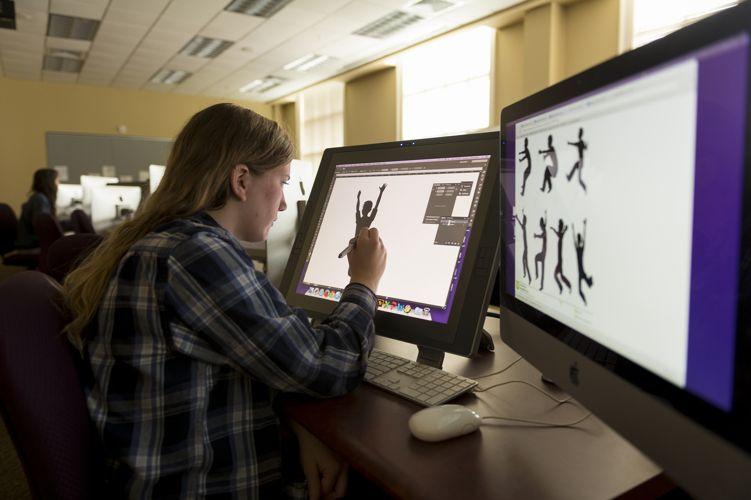 Обучение графике в High Point University