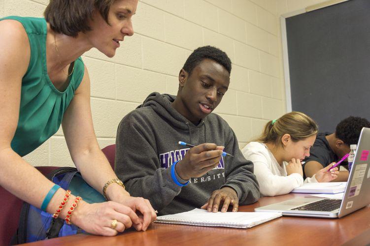 Студенты High Point University