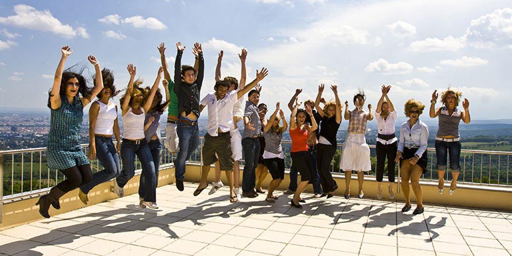 Студенты Modul University